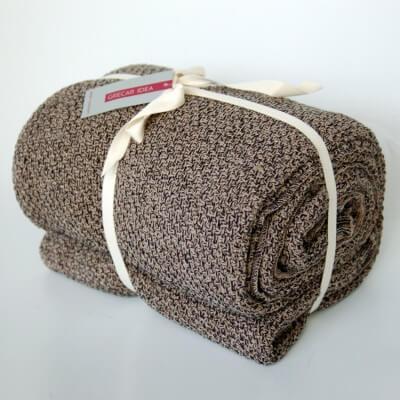 cubre sofà bicolor brown